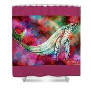 Spirit Whale 2 Shower Curtain