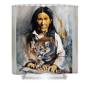 Spirit Within Shower Curtain