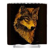 Spirit Wolf Shower Curtain