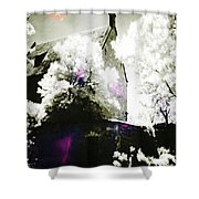 Spirits And Church Shower Curtain