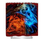 Spirits For Accessories Shower Curtain
