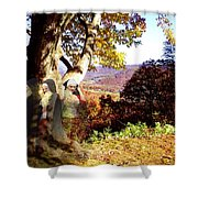Spirits In View Shower Curtain