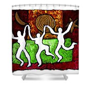 Spirits Of The Dance Shower Curtain