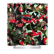 Spirits Of The Forest Shower Curtain