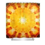 Spirits Towards The Sun Shower Curtain
