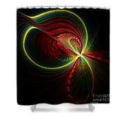 Spiritual Energy Shower Curtain