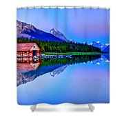 Spiritual Lake Shower Curtain