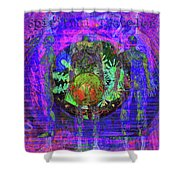 Spiritual Traveler Shower Curtain