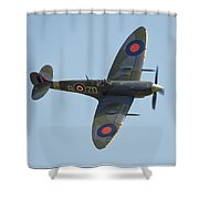 Spitfire Mk9 Shower Curtain