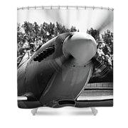 Spitfire Nose Shower Curtain