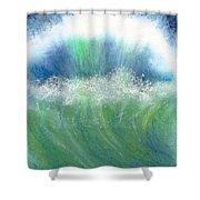 Splash Back Shower Curtain