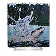 Splash Catch Shower Curtain