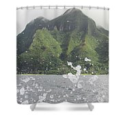 Splash North Shore Kauai Shower Curtain