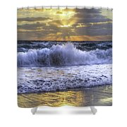 Splash Sunrise IIi Shower Curtain