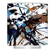 Splatter Gig Shower Curtain