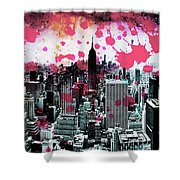 Splatter Pop Shower Curtain