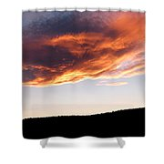 Splendid Cloudscape 11 Shower Curtain