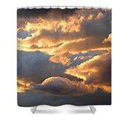 Splendid Cloudscape 2 Shower Curtain