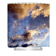 Splendid Cloudscape 3 Shower Curtain