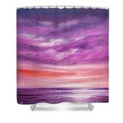 Splendid Purple Shower Curtain