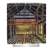 Splendor In The Barn Shower Curtain