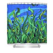 Splendor In The Grass Shower Curtain