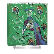 Splendor Is The Night Shower Curtain