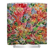 Splendor. Shower Curtain