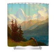 Splendor Of The Grand Tetons - Wyoming Territory Shower Curtain