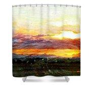 Splendor Vista Shower Curtain