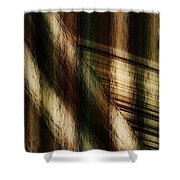 Splinter And Fray Shower Curtain