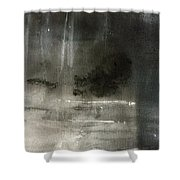 Split Shower Curtain