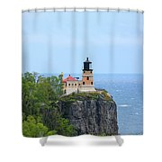 Split Rock Beacon Shower Curtain