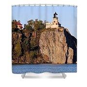 Split Rock Lighthouse  9321 Shower Curtain