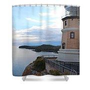 Split Rock Lighthouse Four Shower Curtain