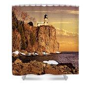 Split Rock Lighthouse Shower Curtain