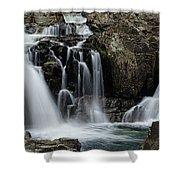 Split Rocks Falls 2 Shower Curtain