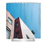 Spokane Brick Buildings 3 Shower Curtain