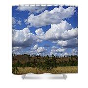 Spokane Cloudscape Shower Curtain