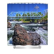 Spokane Falls 2 Shower Curtain