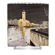 Spokane Fantasy 2 Shower Curtain