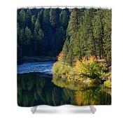 Spokane Rivereflections Shower Curtain
