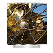 Spokes Shower Curtain