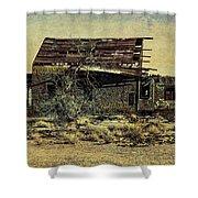 Spooky Broken House Shower Curtain