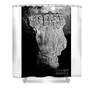 Spooky Bryce Canyon  Shower Curtain