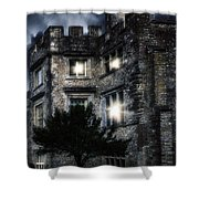 Spooky Castle Shower Curtain