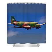 Spooky Douglas Ac-47  Shower Curtain