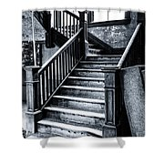 Spooky Grand Staircase Shower Curtain