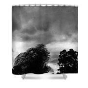 Spooky Sky  Shower Curtain