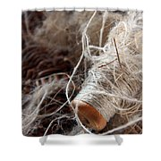 Spool Of Wool Shower Curtain